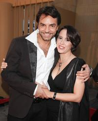 Eugenio Derbez and Patricia Riggen at the special screening of