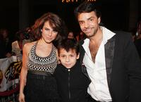 Kate Del Castillo, Adrian Alonso and Eugenio Derbez at the special screening of