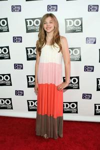 Chloe Grace Moretz at the DoSomething.org Celebrates The Power Of Youth party.