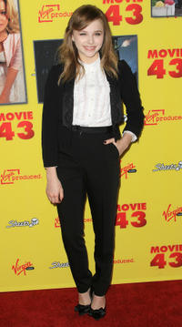 Chloe Grace Moretz at the California premiere of