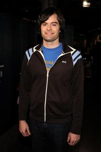 Bill Hader at the MTVs Total Request Live.