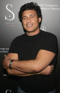 Steven Bauer at the opening of Social Hollywood.