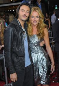 Jack Huston and Cat Deeley at the Los Angeles premiere of