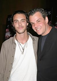 Jack Huston and Danny Huston at the world premiere of
