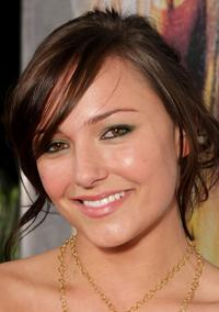 Briana Evigan at the world premiere of