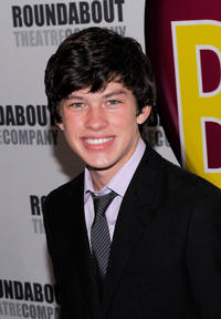 Graham Phillips at the Broadway opening night of