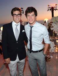 Brad Barnes and Graham Phillips at the 2012 Oceana's SeaChange Summer party in California.
