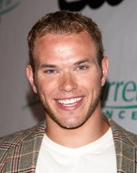 Kellan Lutz at the premiere party for CW Network's