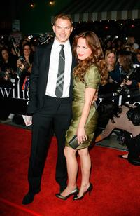 Kellan Lutz and Elizabeth Reaser at the premiere of