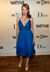 Jessica Chastain at the Kimberly Brooks