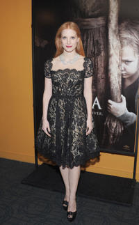 Jessica Chastain at the New York premiere of