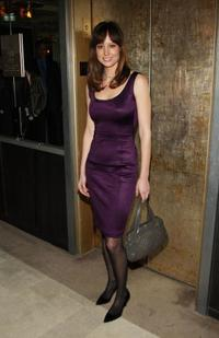 Alexie Gilmore at the after party of the screening of