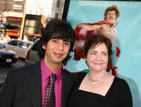 Hector Jimenez and producer Julia Pistor at the premiere of