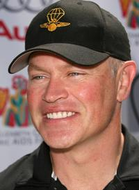 Neal McDonough at the Elizabeth Glaser Pediatric Aids Foundation Golf Tournment.