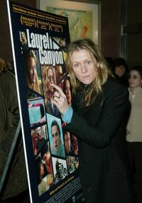 Frances McDormand at the New York premiere of