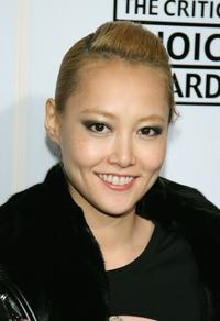 Rinko Kikuchi at the Lexus Critic's Choice Awards After Party.