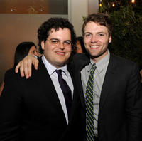 Josh Gad and Seth Gabel at the after party of the opening night gala of