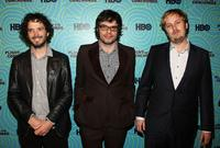Brett McKenzie, Jemaine Clement and James Bobin at the 25th Film Independent Spirit Awards.