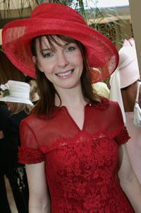 Jacqueline McKenzie at the AAMI Victoria Derby Day.