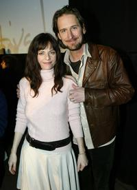 Lisa Blount and Ray McKinnon at the Chrystal Q and A during the 2004 Sundance Film Festival.