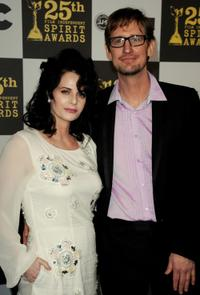 Lisa Blount and Ray McKinnon at the 25th Film Independent's Spirit Awards.