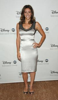 Jill Wagner at the Disney and ABC's