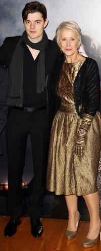 Sam Riley and Helen Mirren at the European Premiere of
