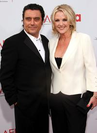 Ian McShane and wife Gwen Humble at the 34th AFI Life Achievement Award tribute to Sir Sean Connery.