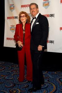 Jayne Meadows and Bill Allen at the 13th Annual Broadcasting and Cable Magazine Hall of Fame.