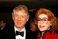 Ted Koppel and Jayne Meadows at the 13th Annual Broadcasting and Cable Magazine Hall of Fame.