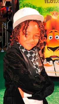 Jaden Smith at the premiere of