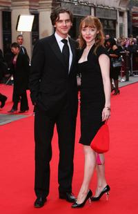 Dan Stevens and Guest at the British Academy Television Awards 2008.