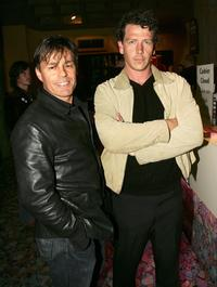 Terry Serio and Ben Mendelson at the premiere of