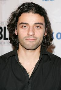 Oscar Isaac at the after party of the opening of