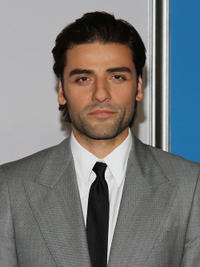 Oscar Isaac at the New York premiere of