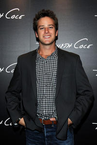 Armie Hammer Jr. at the Grand Opening of Kenneth Cole Boutique in California.