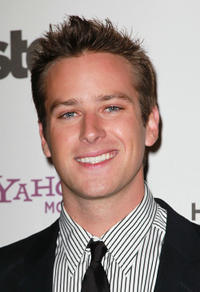 Armie Hammer Jr. at the 14th annual Hollywood Awards Gala.