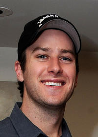 Armie Hammer Jr. at the 2011 DPA Golden Globes Gift Suite in California.