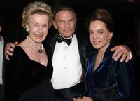 Dina Merrill, Ted Hartley and Stockard Channing at the Museum of Television & Radio Annual Los Angeles Gala.