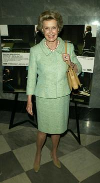 Dina Merrill at the premiere of