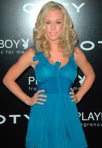Kendra Wilkinson at the Playboy fragrance launch.