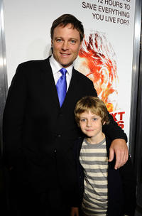 Michael Buie and Ty Simpkins at the California premiere of