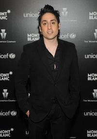 Omar Doom at the Montblanc Charity Cocktail hosted by The Weinstein Company.