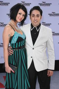 Bella Fisher and Omar Doom at the German premiere of