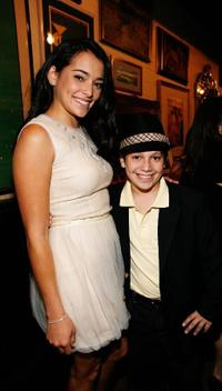 Natalie Martinez and Frank Dolce at the Fox's Upfront presentation.