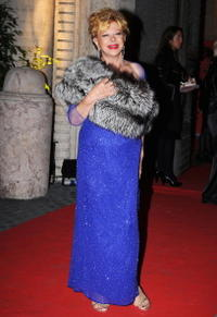 Sandra Milo at the 3rd Rome International Film Festival.