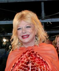 Sandra Milo at the 70 years of Cinecitta Studios party.