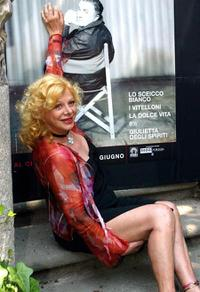 Sandra Milo at the Federico Fellini Festival.