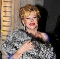 Sandra Milo at the Opening Ceremony Dinner Honoring Al Pacino during the 3rd Rome International Film Festival.