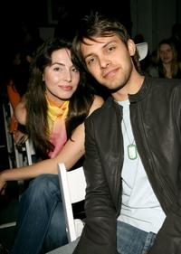 Whitney Cummings and Ryan Devlin at the Teen Vogue and DKNY JEANS Fall 2006 show during the Mercedes-Benz Fashion Week.